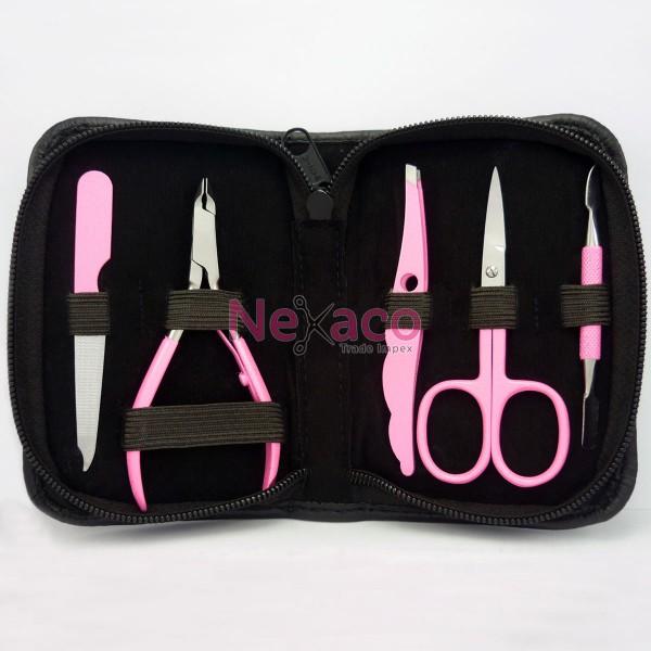 Manicure kit | Mnk-003-Pink